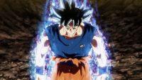 Gokū éveille ses symptômes de l'Ultra Instinct durant son combat contre Jiren