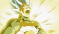 Vegeta fait exploser son Ki contre Toppo