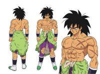Character Design de Broly (adulte)