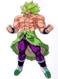 Broly Super Saiyan Full Power