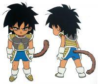Character Design de Broly (enfant)