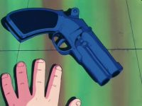 Le Powered Gun, dans l'anime
