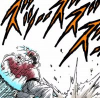 Majin Boo reçoit le Super Genkidama