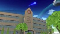 La réplique de l'L'Orange Star High School dans Xenoverse 2