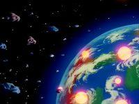 La planète Vegeta, dans la série TV