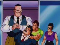 Rock et les membres du gang Red Shark prennent le maire en otage