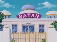 La maison de Satan, dans la série