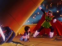 Gohan vole au secours de Videl