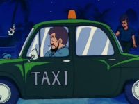 Le taxi de l'île Papaya, dans l'anime