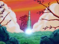 Les Saiyans s'emparent de la technologie Tsufur et voyagent dans l'espace