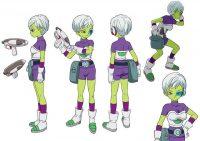 Character Design de Cheelai (par Shintani)