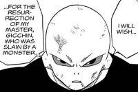 Jiren dévoile qu'il veut ressusciter son maître, Gitchin
