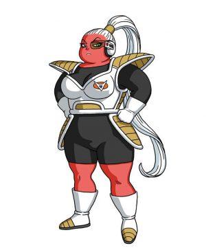 Character Design de Bonyū, par Akira Toriyama